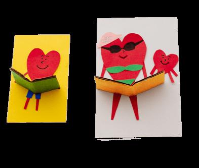 David's paper character